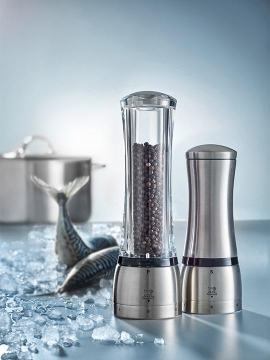 6.1 x 6.1 x 16 cm Peugeot Daman u Select Salt Mill Stainless Steel