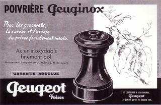 First production of Peuginox - Peugeot Saveurs