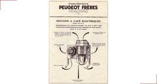 First attempt at electric coffee grinders - Peugeot Saveurs