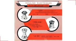 Electric coffee grinders - Peugeot Saveurs